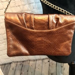 Talbots Bags - Copper Talbots crossbody purse